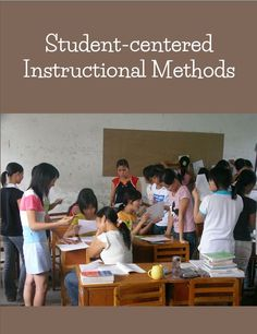 Infographic of 28 learner-centered instructional methods.