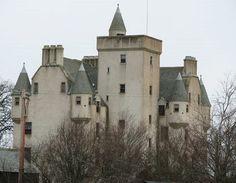 scottish leslie castle | LESLIE CASTLE (ABERDEENSHIRE SCOTLAND--once known as Lesslyn Scotland)