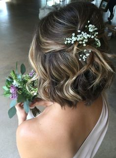 Hairstyle Curly, Formal Hairstyles For Short Hair, Bob Wedding Hairstyles, Down Hairstyles, Unique Hairstyles, Hairstyle Ideas, Hair Updo, Indian Hairstyles, Hair Ideas