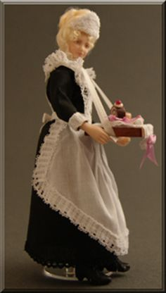 Heverbell Miniatures • Hester • Porcelain Dolls - Costumed & Kits / Trims & Fabrics