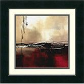 Found it at Wayfair - 'Symphony in Red and Khaki I' by Laurie Maitland Framed Painting Print