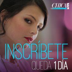 Te queda solo un día para inscribirte en Chica E! Colombia 2013. ¿Estás lista?
