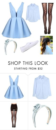 """""""All About That Bass (Meghan Trainor)"""" by b860522 ❤ liked on Polyvore featuring Equipment, SPANX, Jennifer Behr and Vans"""