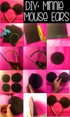 Anna Lei: BatBook: DIY Minnie Mouse Ears
