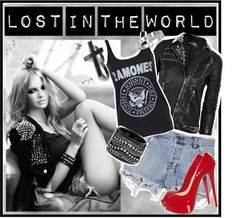 """""""Lost in the world"""" by jeniaa ❤ liked on Polyvore"""