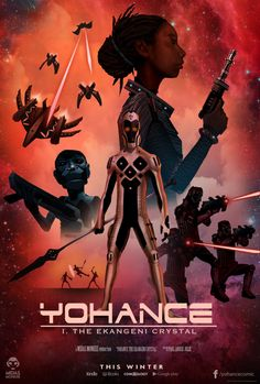 """black-geek-supremacy: """" wearewakanda: """" Hey 'Star Wars' Fans, There's An African-Inspired Futuristic Space Opera In The Works After launching an African graphic novel series grounded in ancient mythology earlier this year, author and illustrator Paul. African Culture, African Art, African Design, Comic Art, Comic Books, Black Comics, Thing 1, Afro Punk, Futuristic"""