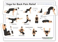 yoga poses for back pain on pinterest  back pain yoga