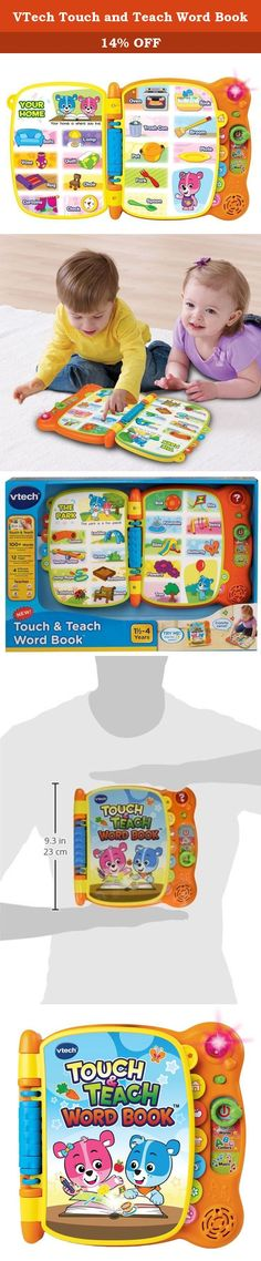 VTech Touch and Teach Word Book. Touch & Teach Word Book Discover the magic of words with the Touch & Teach Word Book by VTech. Cody The Smart Cub and Cora The Smart Cub teach letters and more than 100 words in four different activities. Twelve interactive pages come to life with the touch of a finger. Make reading an even more interactive experience with the Touch & Teach Word Book. Each page reacts to your child's touch with sounds, words and music. This word book includes more than 100...