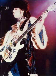 PRN playing bass '84