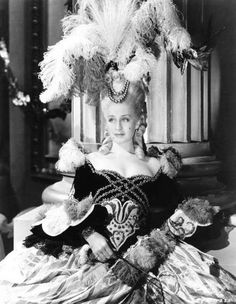 Marie Antoinette/Norma Shearer in the title role/gowns by Adrian, 1938.