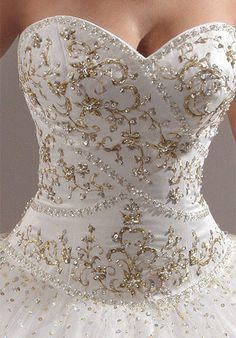 Ball Gown Wedding Dresses - Princess by Mary's 4015 Wedding Dress – The Knot - Western Wedding Dresses, Princess Wedding Dresses, Dream Wedding Dresses, Designer Wedding Dresses, Bridal Dresses, Bridesmaid Dresses, Beautiful Dresses, Nice Dresses, Couture Wedding Gowns