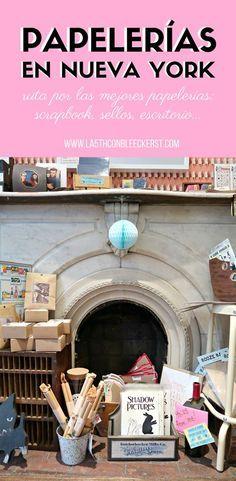 Si te encantan las libretas, bolis, material de escritorio, sellos... aquí tienes las mejores papelerías de Nueva York, ¡palabrita!