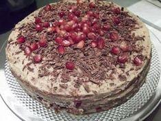 Paleo Séf: Szülinapi gesztenyetorta Paleo, Naan, Amazing Cakes, Tiramisu, Food And Drink, Cukor, Ethnic Recipes, Tej, Fitt