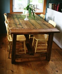 Exceptionnel How To Build A DIY Harvest Table | Table | Pinterest | Rustic Furniture And  DIY Furniture