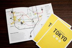 Nike : GUIDE MAP 2011 TOKYO by T.Tokuma