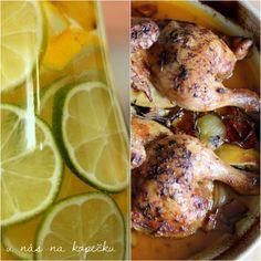 U nás na kopečku: Recepty z kopečku Turkey, Chicken, Meat, Cooking, Food, Lemon, Kitchen, Turkey Country, Essen