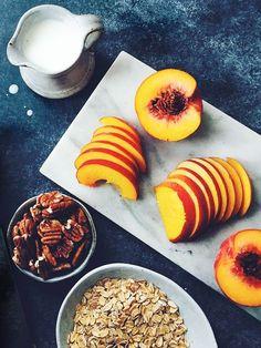 Peach Baked Muesli {