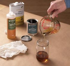 With so many wipe-on finishes to choose from, you'll probably find one you like right off the shelf. But you can easily make your own. Woodworking Finishes, Woodworking Projects, Refurbished Furniture, Painted Furniture, Vegetable Glycerin Uses, Sam Maloof, How To Varnish Wood, Tung Oil, Old Wood