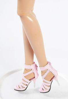 "Sales Fashion 16"" Tonner Antoinette 49MM 16MM Pink Doll Shoes/Sandals Sherry 3"