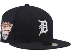 quality design 68931 16b0c Detroit Tigers 2005 All-Star Game Patch Cooperstown 59Fifty Fitted Baseball  Cap by NEW ERA
