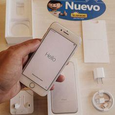 Que bien se siente tener esta maravilla de la tecnología en las manos #Iphone7 32GB /Plus 32GB / Plus 128GB / #NuevosProductos