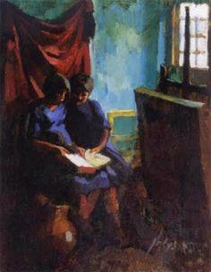 Reading and Art: Oszkár Nagy