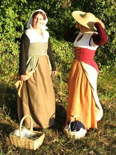 Beth Caba and Julie Schwaninger's Flemish working-class dresses....some day I will make myself one...oh yes. :)
