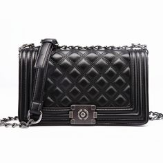 Diamond Lattice Women Bag Designer Handbags High Quality Lady Quilted Plaid Shoulder Crossbody Bags Leather Women Messenger Bag