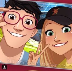 Tadashi and Honey Lemon<<< This gives me feels. Also, I kind of ship it...