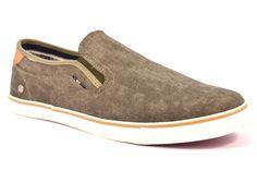 WRANGLER WM171022 20 MITOS SLIP ON MILITARY Verdone Uomo Ragazzo Scarpe Sneakers