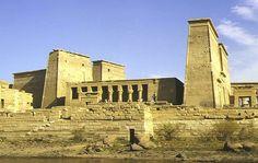 Der Isis-Tempel von der Insel Philae