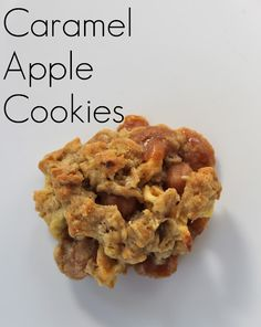 caramel apple cookies