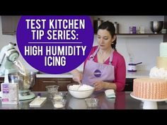 Test Kitchen Series 1: How to make High Humidity Buttercream Icing - YouTube