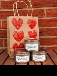 A personal favorite from my Etsy shop https://www.etsy.com/listing/263079869/valentine-gift-set-valentines-day
