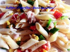 Salata rapida de paste cu ton si legume Celery, Pasta Salad, Cantaloupe, Potato Salad, Potatoes, Chicken, Meat, Vegetables, Ethnic Recipes