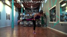 """Licensed fitness Instructor and certified personal trainer Sarah Placencia choreographs a Dance Fitness routine to the song """"She Wolf."""" Buy this song at http. Zumba Fitness, Senior Fitness, Dance Fitness, Family Fitness, Fitness Fun, Dance Workout Videos, Zumba Videos, Exercise Videos, Dance Videos"""