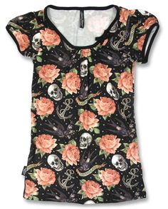 Liquor Brand Damen T-Shirt.Oldschool,Rockabilly,Tattoo,Pin up,Custom Biker Style