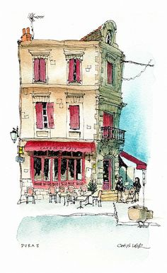 Rosamaria G Frangini | Architecture | Art | Drawings | Duras, France | Flickr