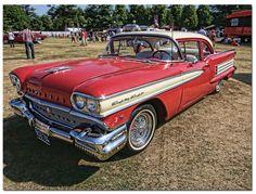1958 Oldsmobile Dynamic 88. American Classic Car.