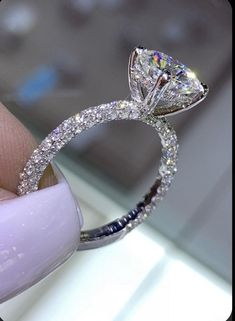 Dream Engagement Rings, Rose Gold Engagement Ring, Engagement Ring Settings, Diamond Wedding Rings, Tiffany Wedding Rings, Solitaire Engagement, Wedding Bands, Cubic Zirconia Engagement Rings, Solitaire Diamond