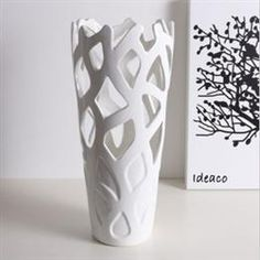 Ceramic Cut Out Vase