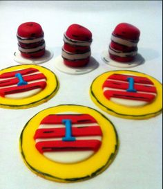 DR. Seuss Inspired Cupcake Fondant Toppers