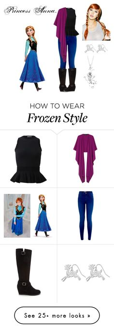 """""""Modern Day Disney's Anna Outfit"""" by marydudich on Polyvore featuring Alexander McQueen, Talbot Runhof, Forever 21, Spree Picky, Kim Rogers, Disney and modern"""