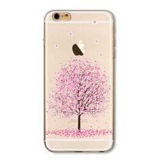 Proche de la Nature ? Cette coque arbre rose est faite pour vous. Grâce à elle, vous verrez la vie en rose. Cette coque arbre rose est compatible avec l'iPhone 6, 6S et 7.#coque #iphone #accessories #fashion #gift #pink #candidmoon