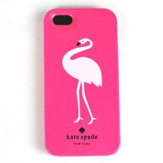 WANT: Kate Spade case for iphone 5 Flamingo