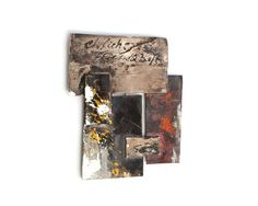Heidemarie Herb. Brooch: Collection Minipictures, 2012. Ag, brass, melted colours. Photo by: Silvana Tili.