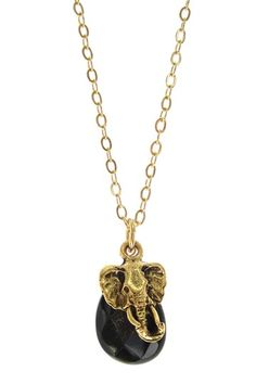 Elephant Necklace. I would wear this almost err day
