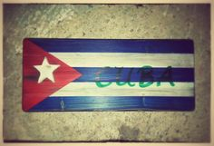 Hey, I found this really awesome Etsy listing at https://www.etsy.com/listing/286552885/cuba-flaghandmade-3d-wooden-signwall