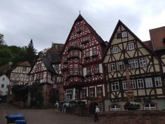 Old Town, MIltenberg, Germany
