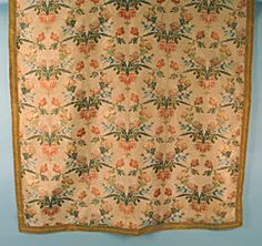 Silk Brocade Hanging, 18th C.<br /> March 24, 2004 - Session 1 - Lot 47 - $900